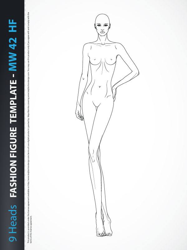 Fashion Figure Template